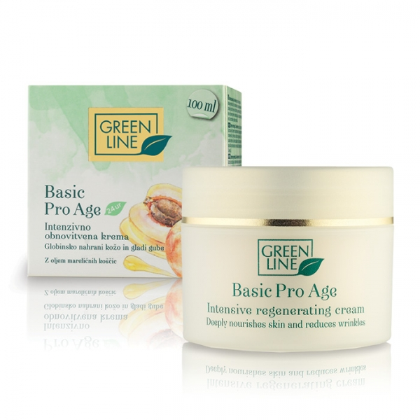 24-hour Basic intensive regenerating cream for dry mature skin, anti-ageing