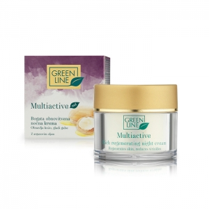 Multiactive rich regenerating night cream for dry mature skin