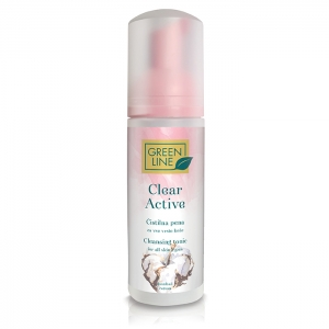 Clear Active cleansing foam for all skin types