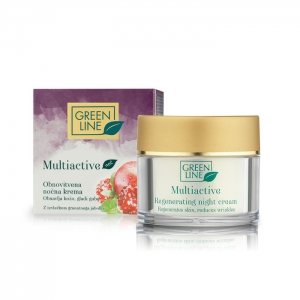 Multiactive regenerating night cream for mature skin