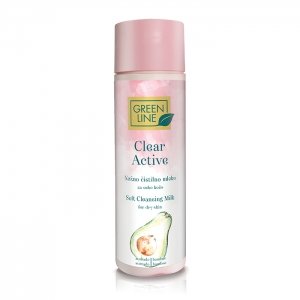 Clear Active soft cleansing milk for dry skin