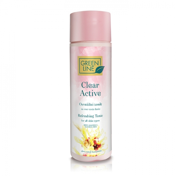 Clear Active refreshing tonic for all skin types